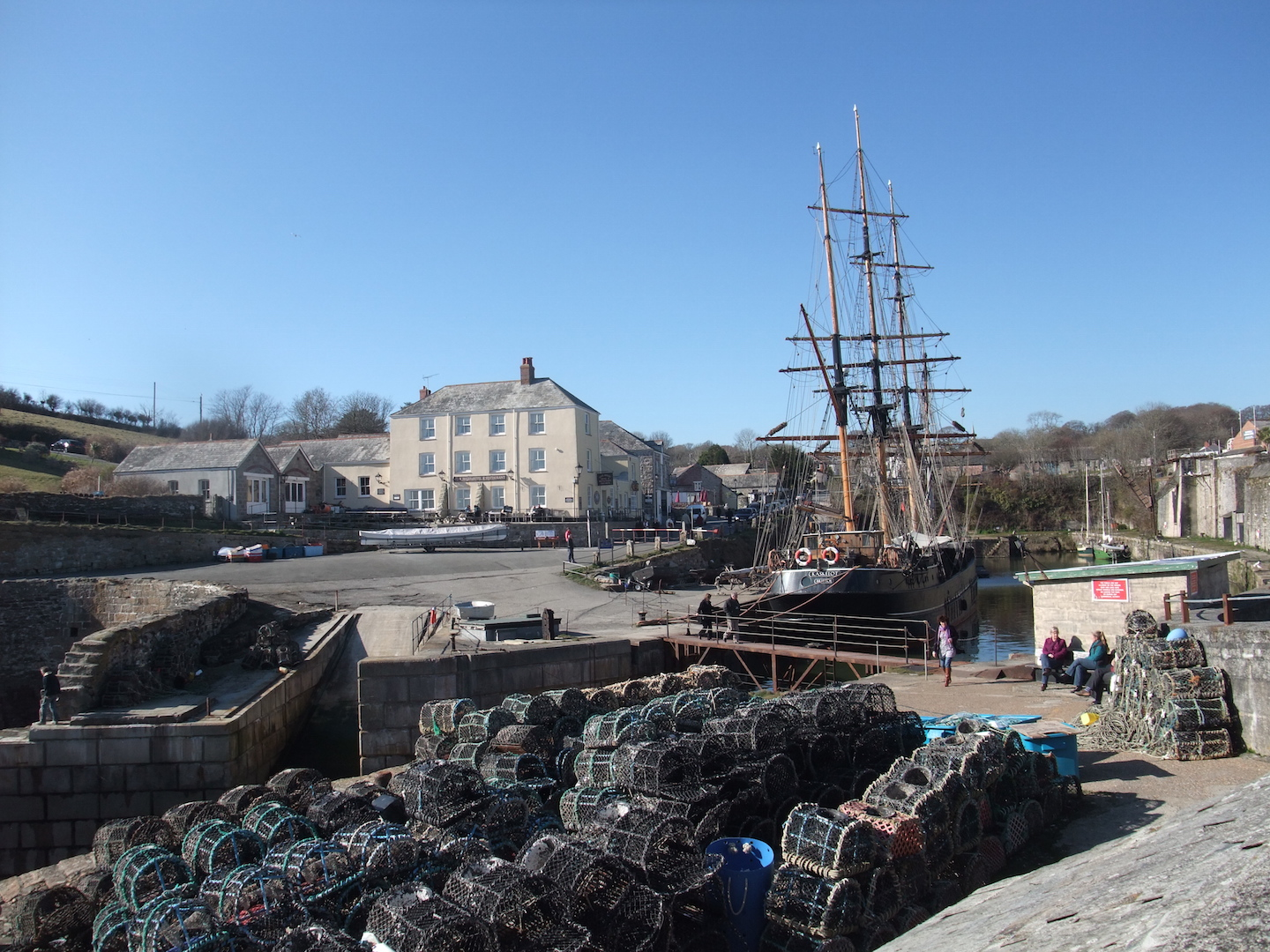 Charlestown Harbour - 45 minute walk
