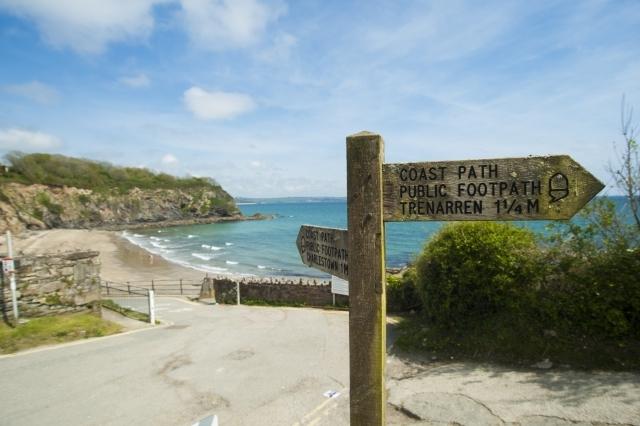 Walking the Southwest Coastal Footpath (Adam Gibbard)